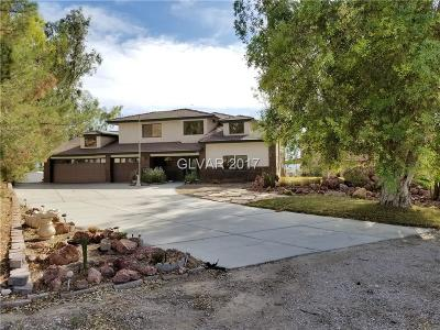 Las Vegas Single Family Home For Sale: 6885 Bonanza Road