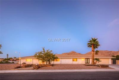 Las Vegas Single Family Home For Sale: 6505 Viewpoint Drive