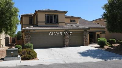 North Las Vegas Single Family Home For Sale: 6234 Palmona Street