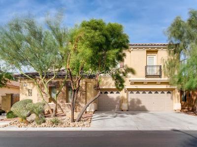 Las Vegas Single Family Home For Sale: 10017 Portula Valley Street