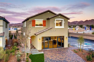 Henderson Single Family Home For Sale: 1270 Smokey Valley Lane #Lot 37