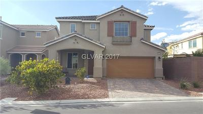 North Las Vegas Single Family Home For Sale: 5745 Clear Haven Lane