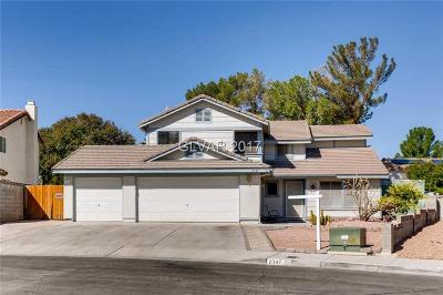 Henderson Single Family Home For Sale: 2347 Lone Pine Street