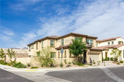 Las Vegas Single Family Home For Sale: 351 Rezzo Street