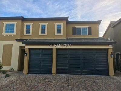 Las Vegas Single Family Home For Sale: 3325 Faywood Springs Avenue #Lot 17