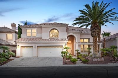 Las Vegas Single Family Home For Sale: 25 Chateau Whistler Court