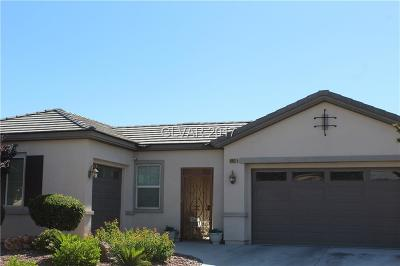 North Las Vegas Single Family Home For Sale: 6912 Auklet Lane