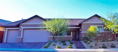 Las Vegas Single Family Home For Sale: 10494 Riley Cove Lane