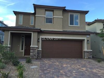 Las Vegas Single Family Home For Sale: 9892 Vista Meadows Avenue