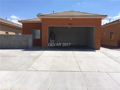 Las Vegas Single Family Home For Sale: 6261 Katie Avenue