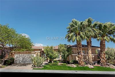 Las Vegas Single Family Home For Sale: 4892 Denaro Drive
