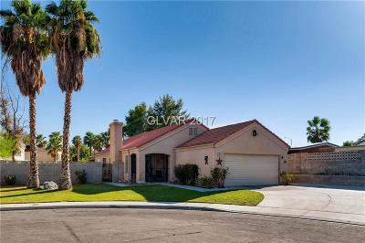 Las Vegas Single Family Home For Sale: 6833 Midpark Circle
