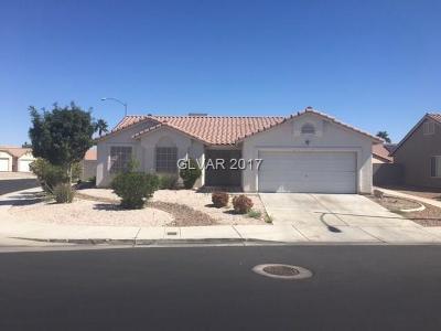 North Las Vegas Single Family Home For Sale: 5338 Edna Crane Avenue