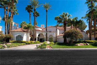 Las Vegas Single Family Home For Sale: 48 Gulf Stream Court
