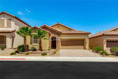 Las Vegas Single Family Home For Sale: 278 Cranstonhill Drive