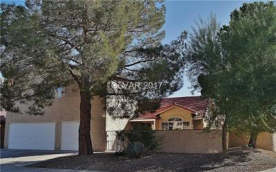 Las Vegas Single Family Home For Sale: 1595 White Drive