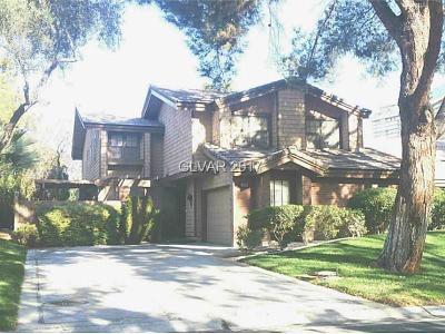 Las Vegas Condo/Townhouse For Sale: 928 Pinehurst Drive