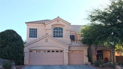 Henderson Single Family Home For Sale: 2405 Indian Pony Court