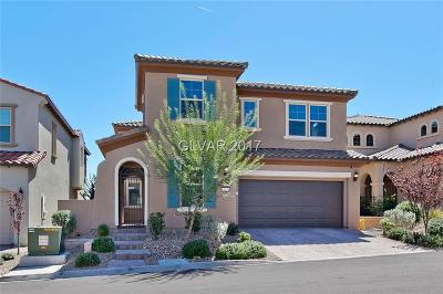 Las Vegas Single Family Home For Sale: 12241 Olivetta Court