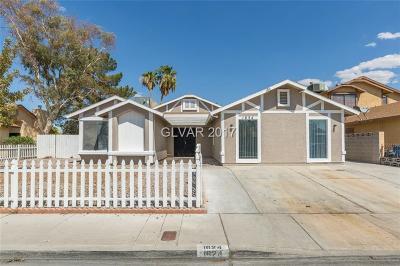 Las Vegas Single Family Home For Sale: 1624 Trish Lane