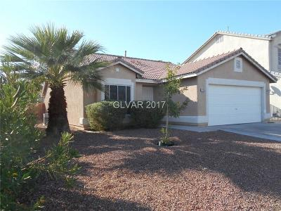 Las Vegas Single Family Home For Sale: 2765 Echo Springs Street