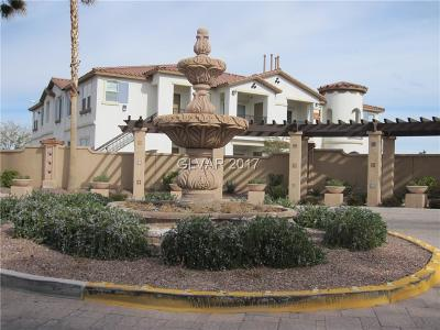 Henderson NV Condo/Townhouse For Sale: $175,000