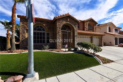 Las Vegas  Single Family Home For Sale: 3716 Heather Lily Court