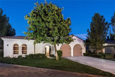 Las Vegas Single Family Home For Sale: 11778 Weybrook Park Drive