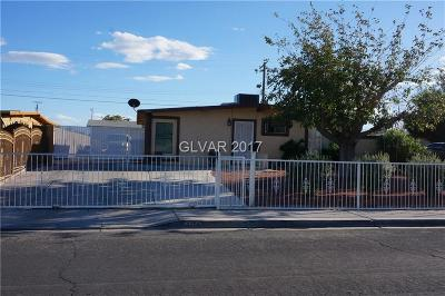 Clark County Single Family Home For Sale: 3709 Tonopah Avenue
