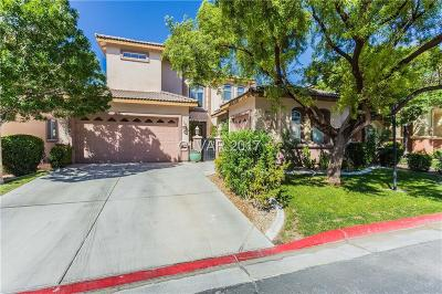 Las Vegas Single Family Home For Sale: 8089 Villa Del Cielo Street