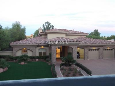 Las Vegas Single Family Home For Sale: 5086 Rustic Ridge Drive