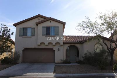 Las Vegas Single Family Home For Sale: 8066 Mohican Canyon Street