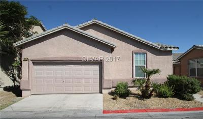 Las Vegas Single Family Home For Sale: 2520 Wooly Rose Avenue