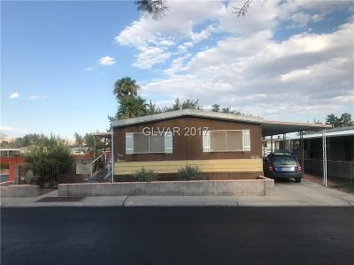 Las Vegas Single Family Home Contingent Offer: 3600 Allegheny Drive