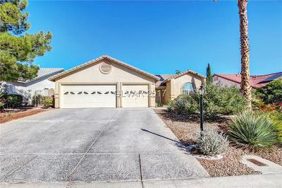 Las Vegas Single Family Home Contingent Offer: 5204 Palm View Drive
