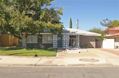 Boulder City Single Family Home For Sale: 808 Eighth Street