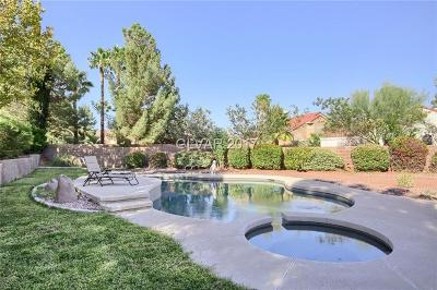 Las Vegas Single Family Home Contingent Offer: 9108 Inlet Cove Court
