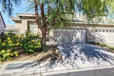 Las Vegas Condo/Townhouse For Sale: 344 Cascade Mist Avenue
