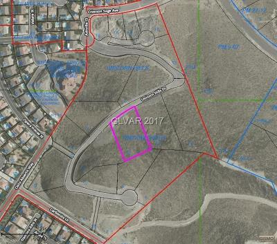 Henderson Residential Lots & Land For Sale: 340 Unicorn Hills Drive
