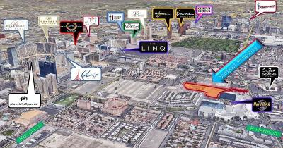 Las Vegas Residential Lots & Land For Sale: 4185 Paradise Road