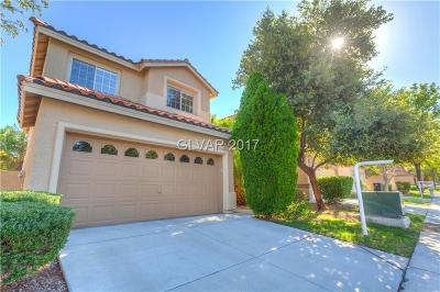 Henderson Single Family Home Contingent Offer: 183 Mountainside Drive