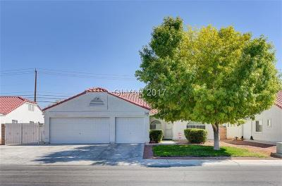 North Las Vegas Single Family Home Contingent Offer: 4628 Mountain Snow Street