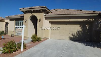 North Las Vegas Single Family Home For Sale: 8020 Slate Falls Street