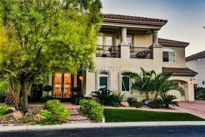 Las Vegas Single Family Home For Sale: 73 Dollar Pointe Avenue