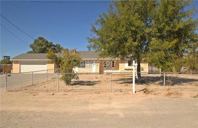 Las Vegas Single Family Home For Sale: 5300 Elkhorn Road