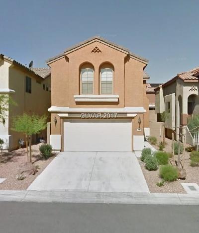 Blue Diamond, Boulder City, Henderson, Las Vegas, North Las Vegas, Pahrump Single Family Home For Sale: 4735 Sweeping Glen Street