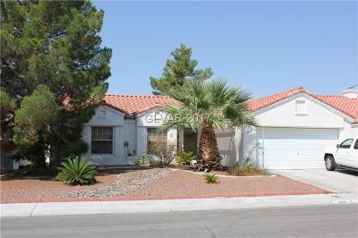 North Las Vegas Single Family Home Contingent Offer: 4037 Stockman Street