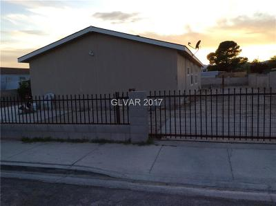 Las Vegas Single Family Home Contingent Offer: 3411 Cactus Springs Drive