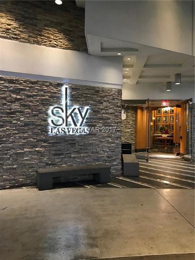 Sky Las Vegas High Rise For Sale: 2700 South Las Vegas Boulevard #2601