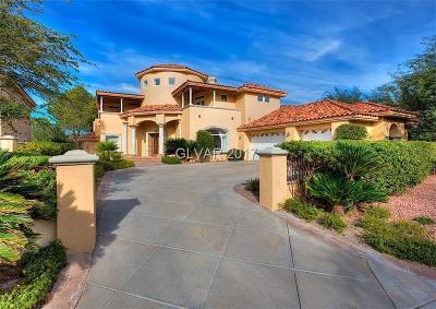 Henderson Single Family Home For Sale: 18 Via Tiberius Way